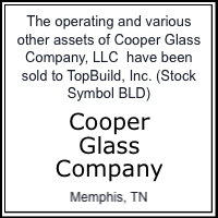 Southard Financial facilitated the sale of Memphis' own Cooper Glass Company