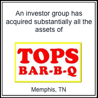 Southard Financial facilitated the sale of Memphis' own TOPS Bar-B-Q chain